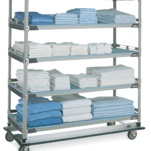 Linen Trolleys, Cleaning Areas, Waste Bins