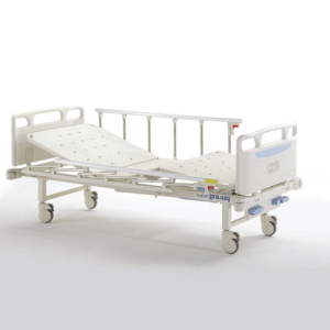 Manual 2 Section Bed