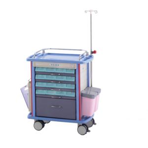 Plastic Medicine Trolley